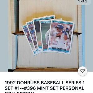 Dunruss series 1 1992  1-376 lots of rookies